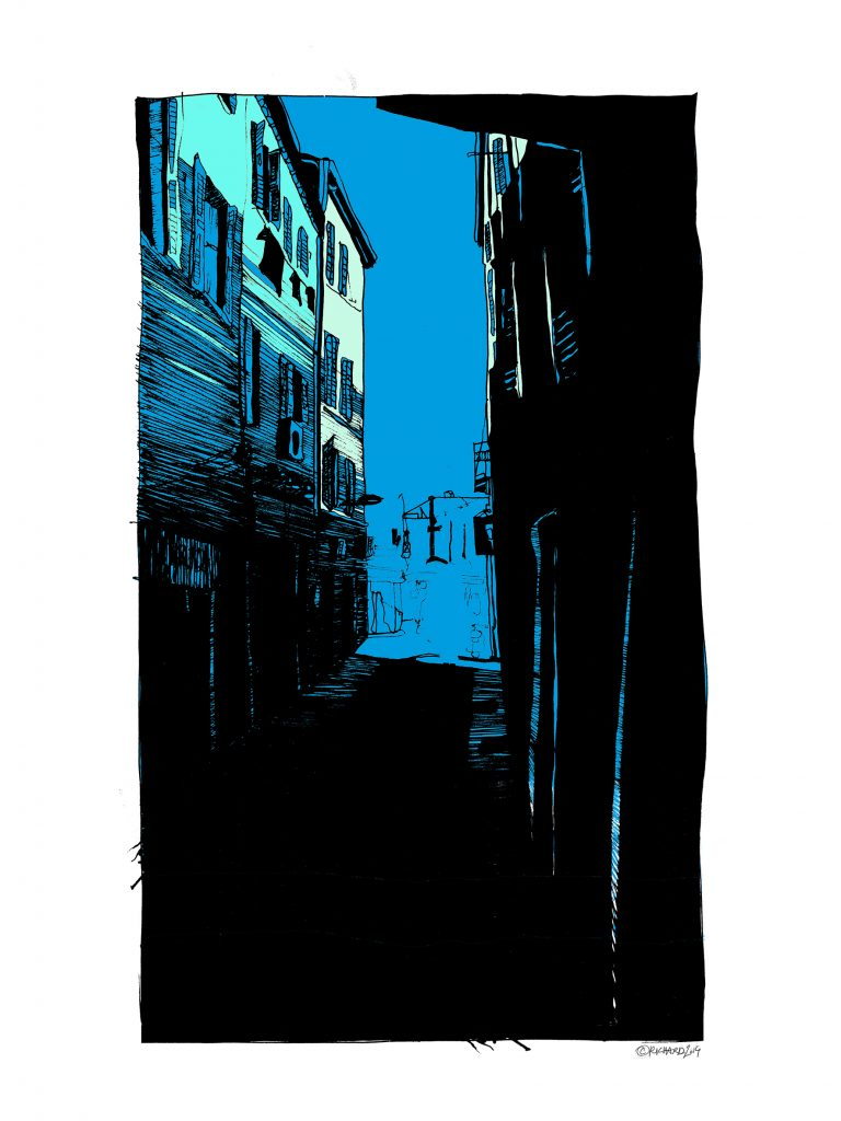 Rue Bleue - Catherine Richard