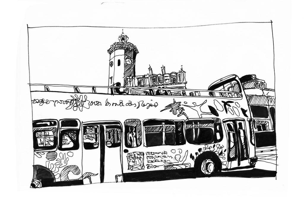 La fille dans le bus - Catherine Richard